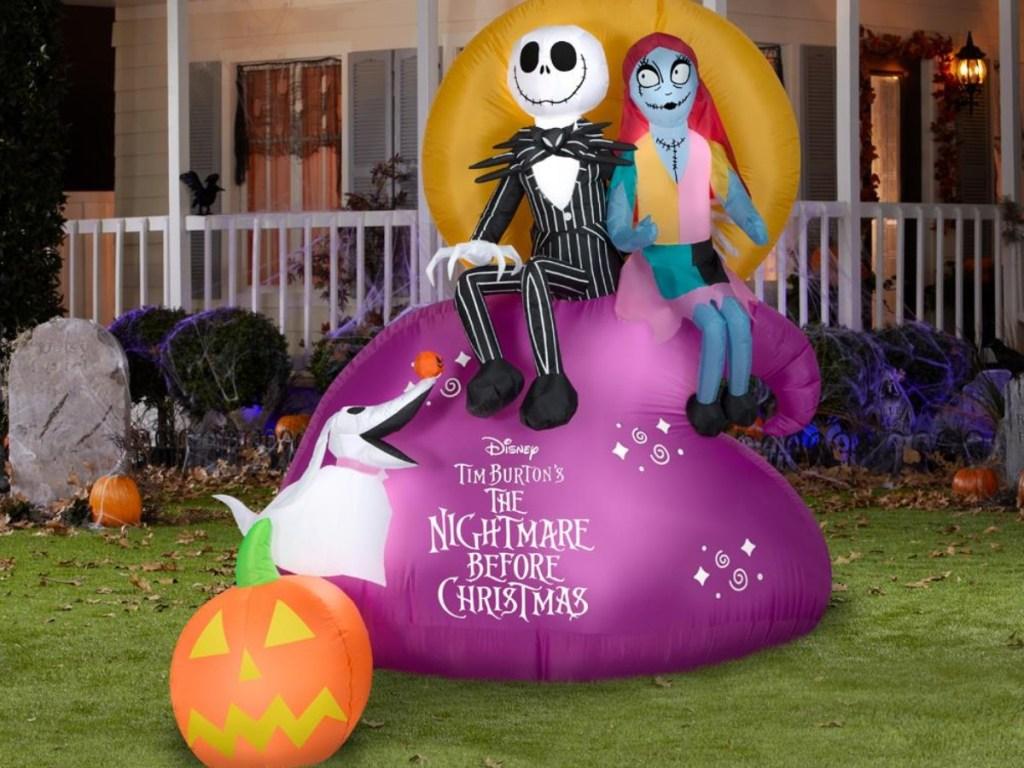 The Nightmare Before Christmas Halloween inflatable