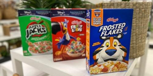 Kellogg's Cereal Just $1.38 Each at Walgreens