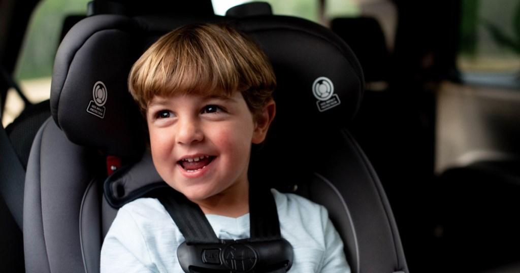 kid in all n one car seat