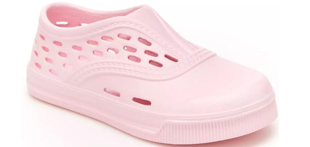 pink girls waterproof shoes