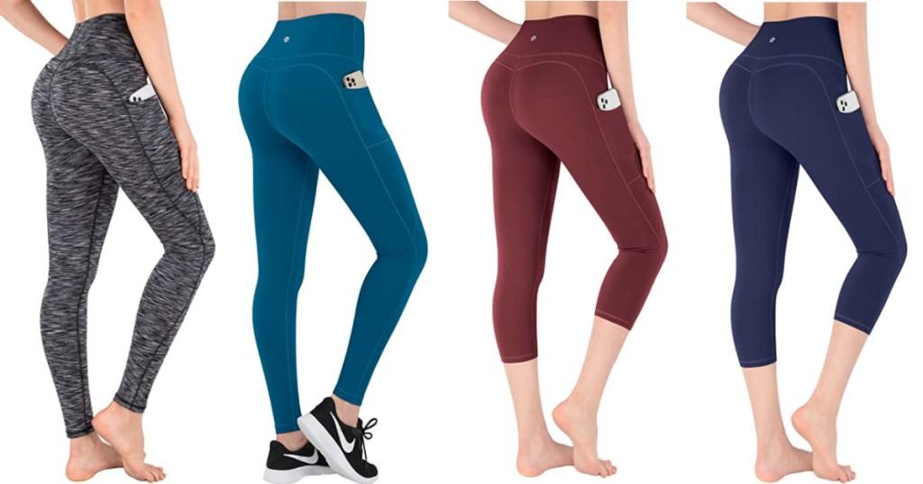 women wearing different ikeep leggings