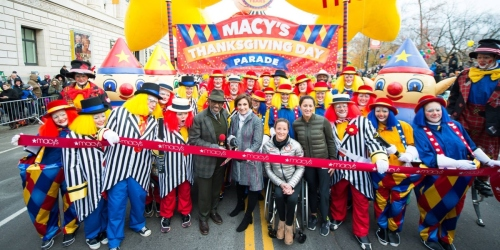 Macy's Thanksgiving Day Parade is Back!