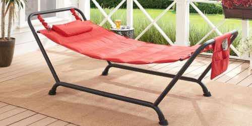 Mainstays Quilted Hammock w/ Stand& Pillow Only $59 Shipped on Walmart.com (Regularly $100)