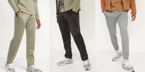 Old Navy Men's Sweatpants & Joggers Only $14 (Regularly $25)