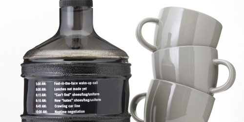 Need an Extra Boost? Enter to Win a Gallon Coffee Jug from Panera