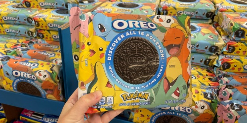 Catch These NEW Limited-Edition Pokémon OREOs | Just $3.88 at Walmart