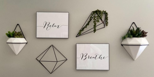 Umbra Prisma Geometric Sculptures 6 Pack Only $13.90 on Amazon (Regularly $30)