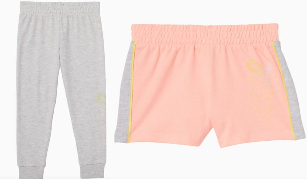 puma kids bottoms and joggers