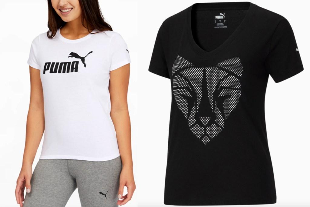 two puma womens tops