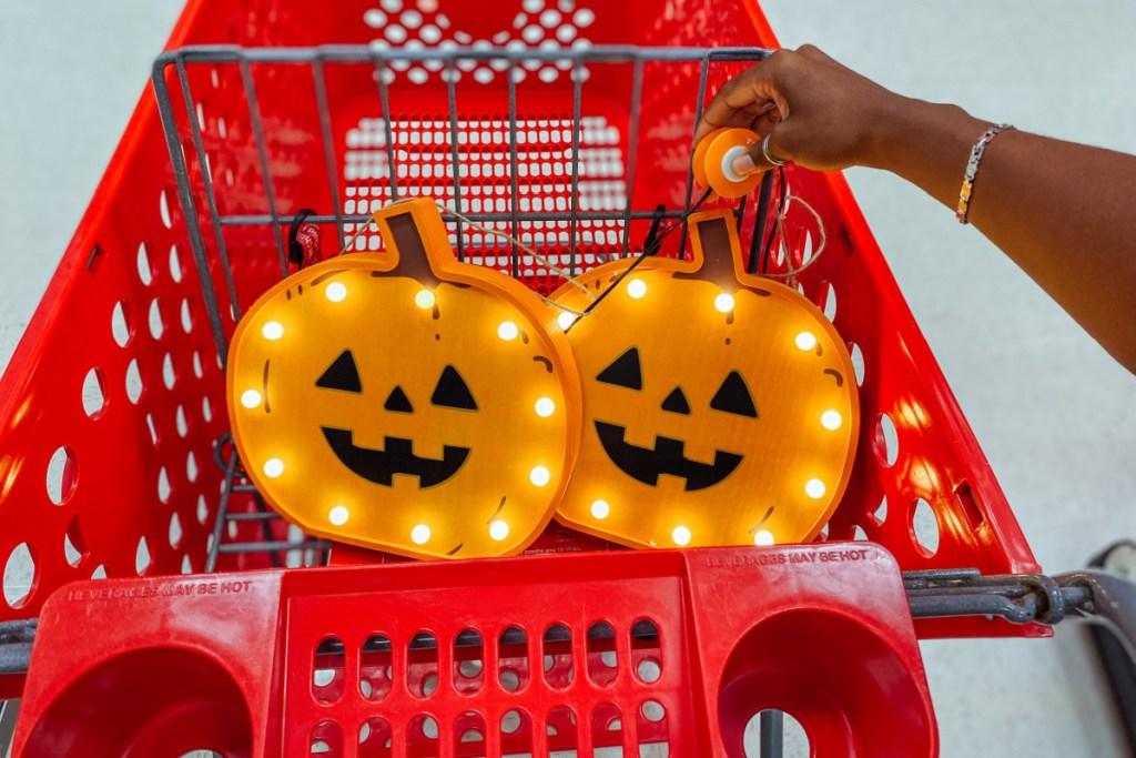 target's halloween hyde and eek pumpkin light bulb decor