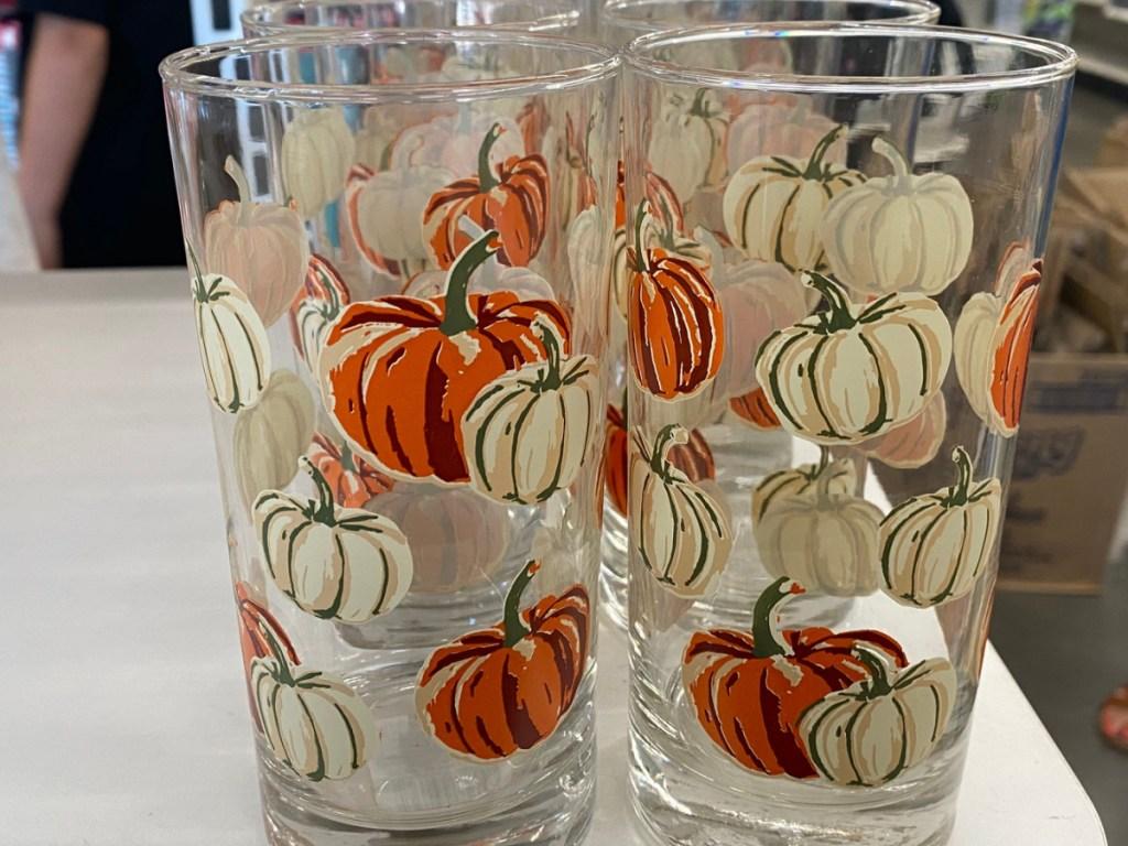 pumpkin tall glass-2