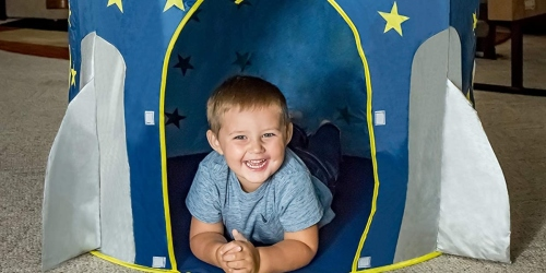 FoxPrint Rocket Ship Tent Only $16.99 Shipped on Amazon (Regularly $35)