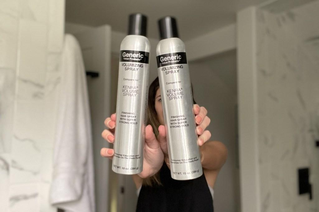 holding up sally beauty's generics hairsprays