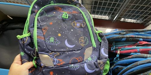 Backpack Set w/ Matching Lunch Kit Only $10.91 at Sam's Club | Space, Butterfly, & More