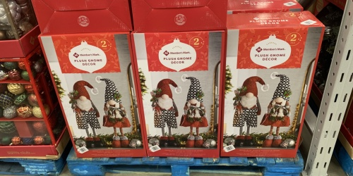 Adorable Holiday Gnomes Available Again at Sam's Club