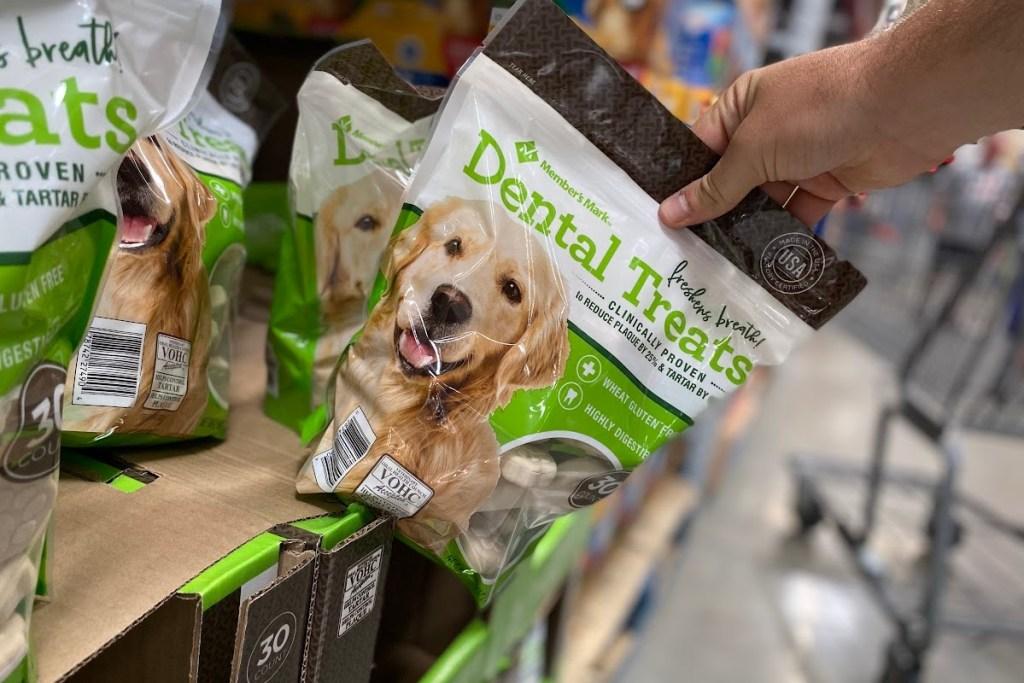 Scan-and-go deals dental dog treats