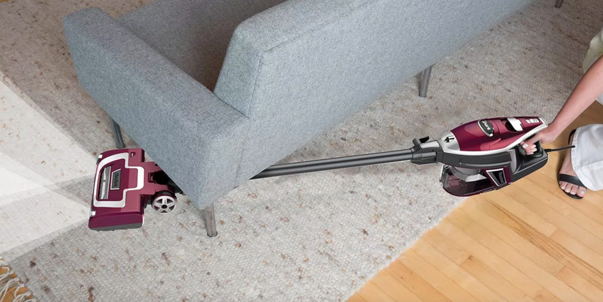 shark deluxepro vacuum going under couch