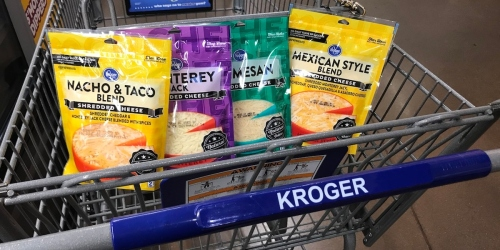 Save Money & Time w/ Kroger Grocery Pickup | Shredded Cheese Just $1.28 & More!