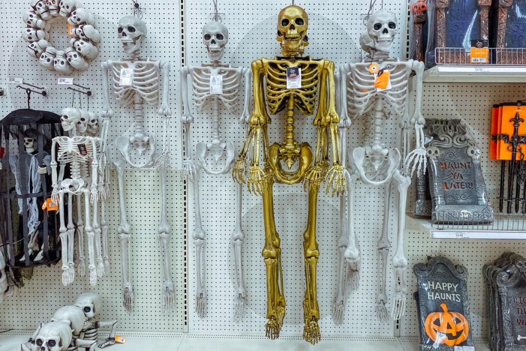 posable skeletons at target