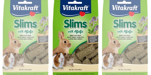 Vitakraft Nibble Slim Stick Treats Only 80¢ Shipped on Amazon (Regularly $3)