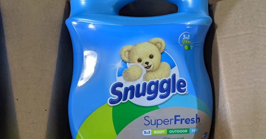 snuggle fabric softener in box