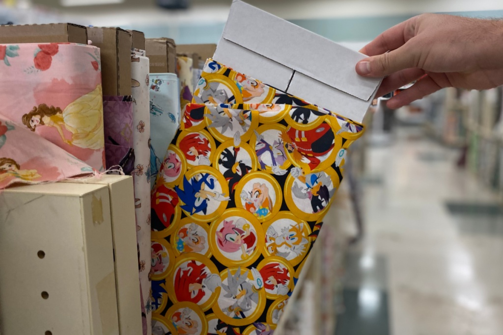 sonic novelty fabric at joanns