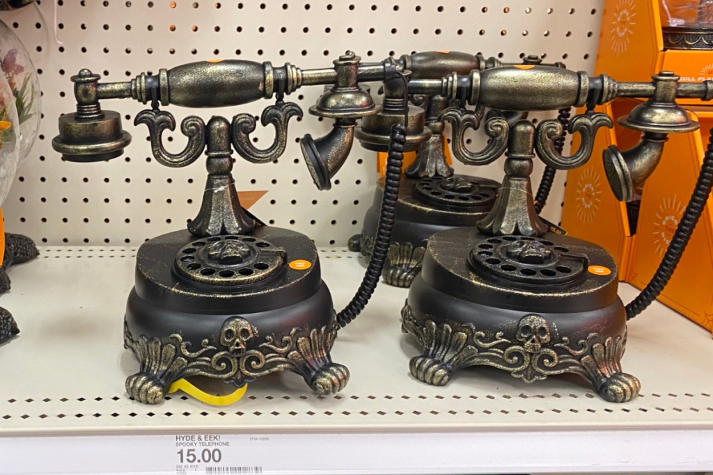spooky telephone at target