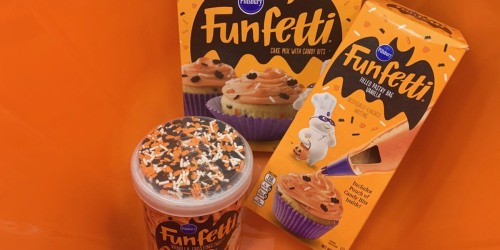 Pillsbury Halloween Funfetti Baking Products from $1.49 at Target