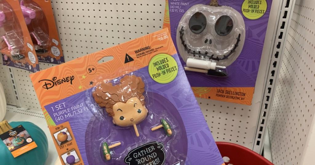 target halloween disney push in pumpkin kits