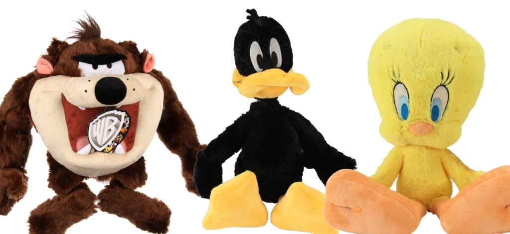 taz, Daffy Duck and tweety bird