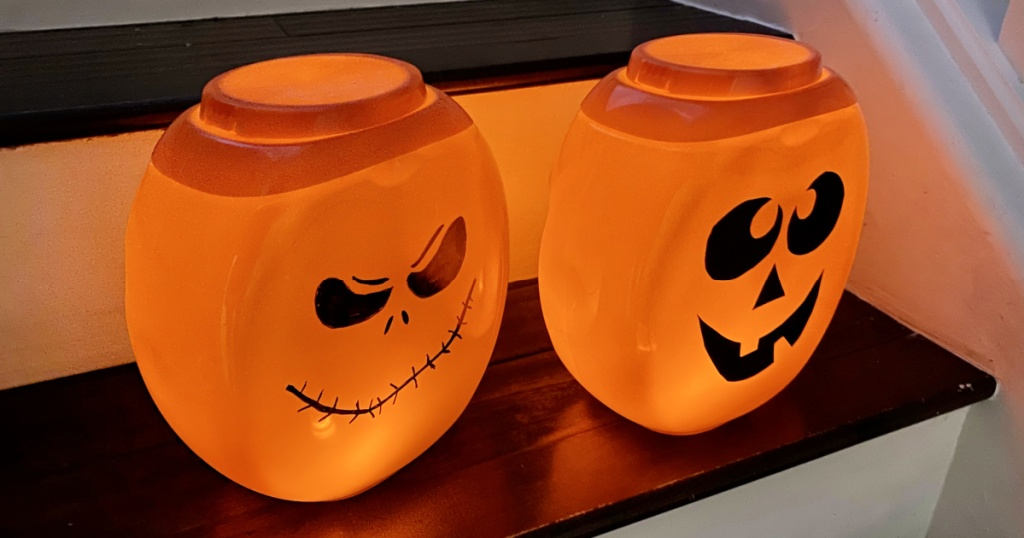 tide pod containers halloween decor
