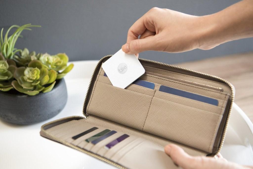 tile slim in wallet