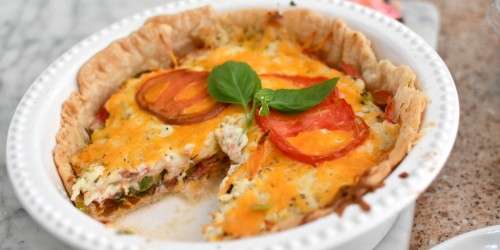 You've Got to Try This Savory Tomato Pie!