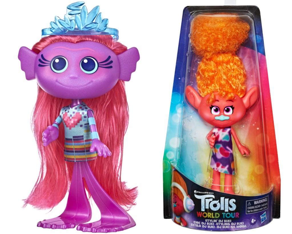 trolls mermaid doll + DJ suki