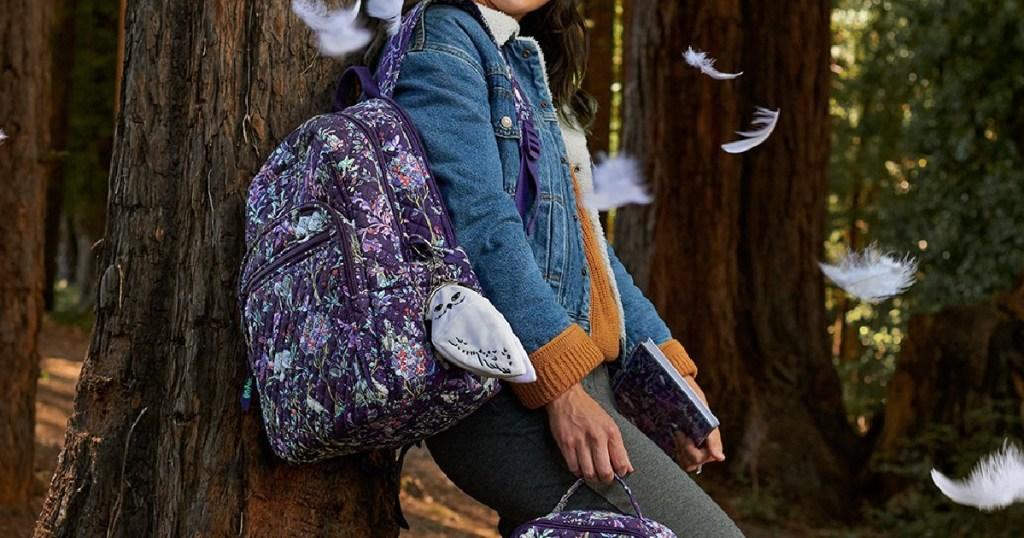 vera bradley harry potter backpack