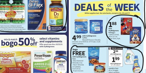 Walgreens Ad Scan for the Week of 9/5/21 – 9/11/21 (We've Circled Our Faves!)