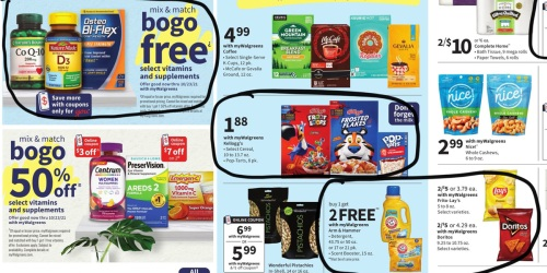 Walgreens Ad Scan for the Week of 9/26/21 – 10/2/21 (We've Circled Our Faves!)