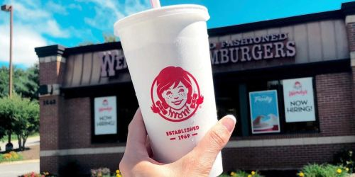 FREE Drink w/ Any In-App Purchase at Wendy's