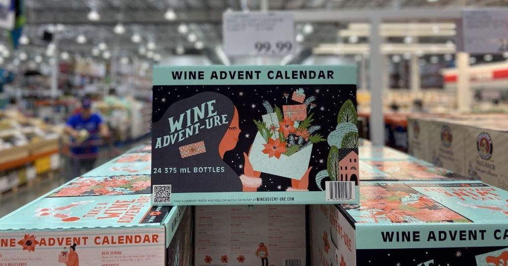 wine advent caldendars in store
