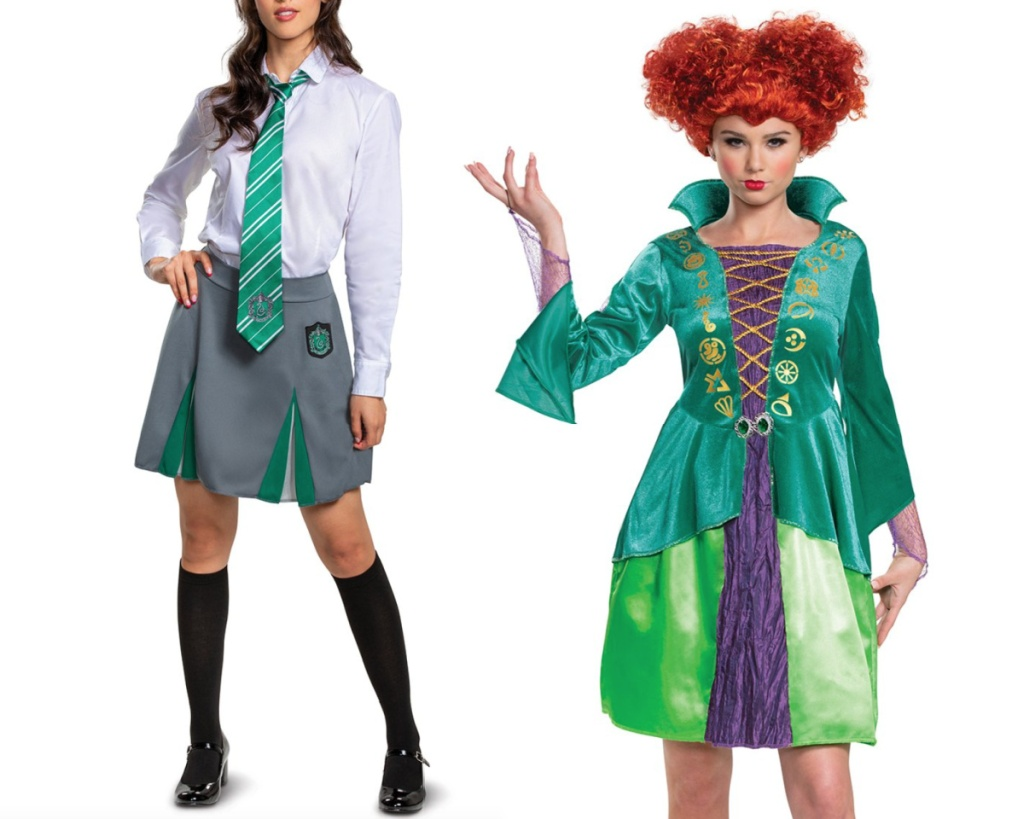 wini and harry potter womens halloween costumes