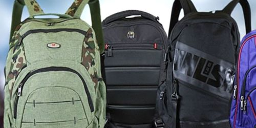 Laptop Backpacks w/ Storage Compartmentsfrom $9.99 Shipped for Amazon Prime Members