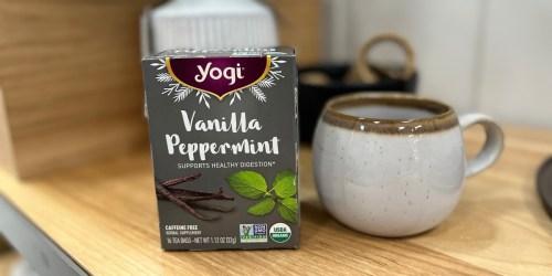 40% Off Yogi Tea at Target   16-Count Box Just $2.51