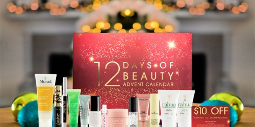 Macy's 12 Days Of Beauty Advent Calendar Only $49 Shipped ($128 Value) | Includes $10 Beauty Purchase Coupon