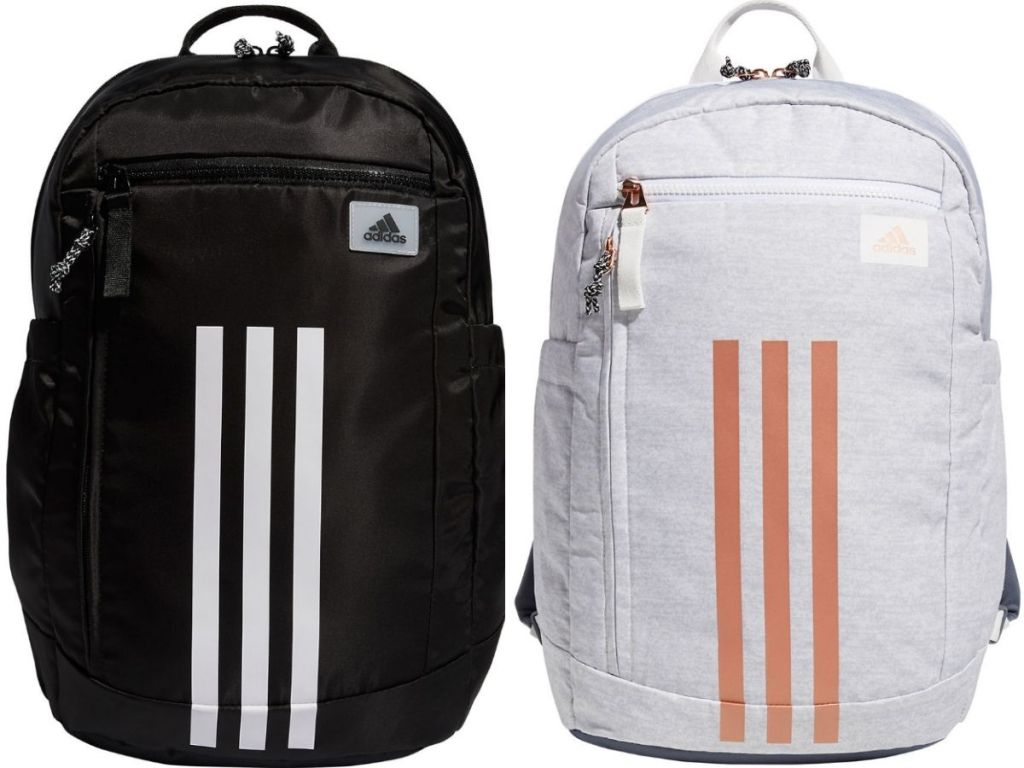 two Adidas Backpacks