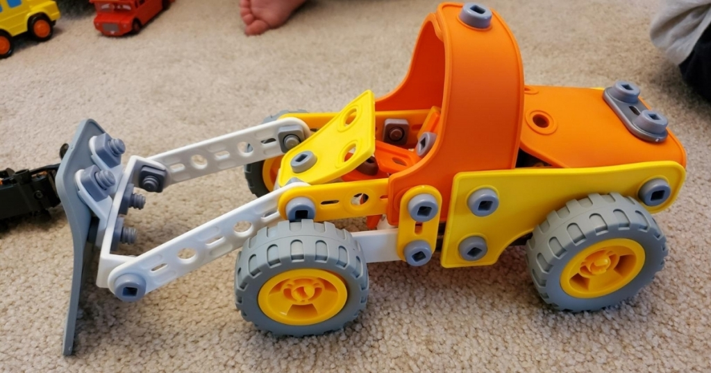 5-in-1 stem building toy vehicle kit