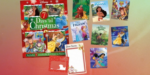 Disney 7 Days 'til Christmas Storybook Advent Calendar Available to Pre-Order Now on Amazon