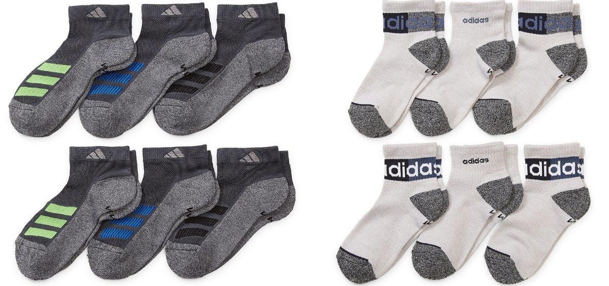 Adidas Big Boys Socks