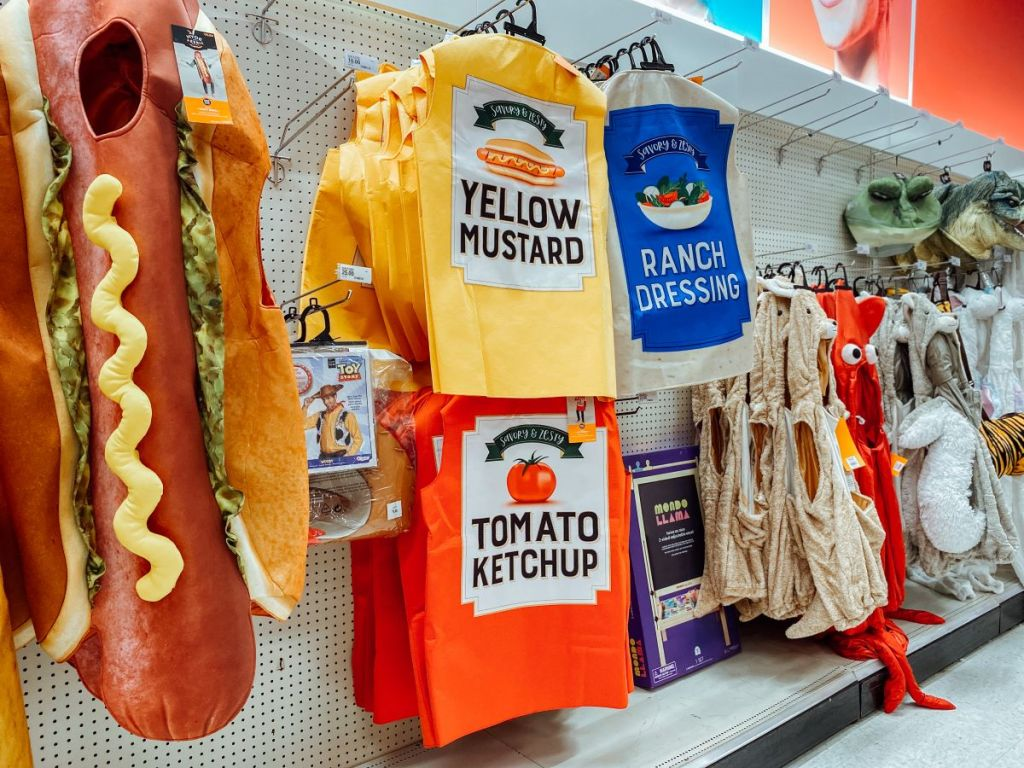 Adult Condiment Costumes at Target