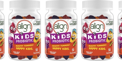 Align Kids Probiotic Gummies 50-Count Bottle Only $8 Shipped on Amazon (Regularly $20)