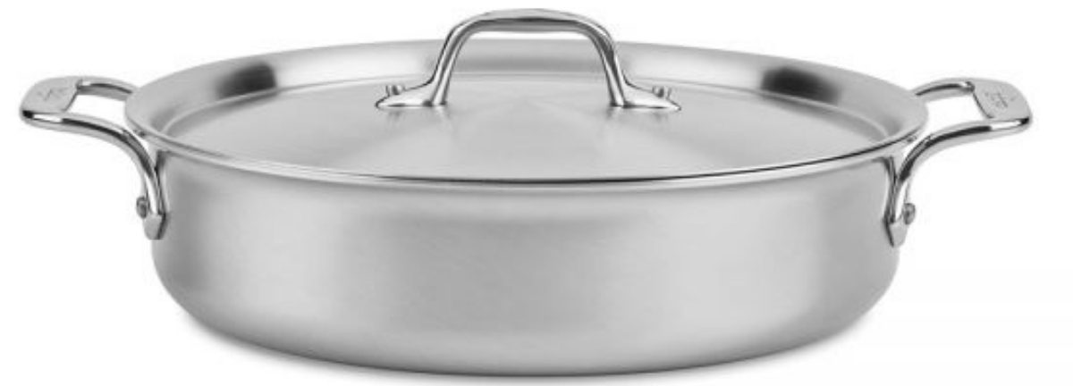 All-Clad 4-Qt. D3 Curated Rondeau w/ Lid (Packaging Damage)